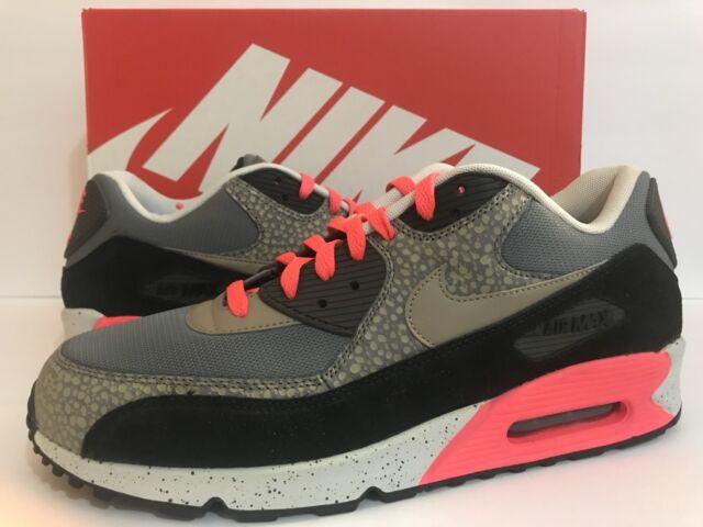 new style 40169 853da Nike Air Max 90 PRM Safari Grey Black Safari Print 700155-006
