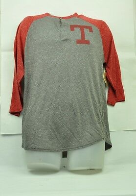 Sonderabschnitt Mlb Texas Rangers Red Jacket Herren T-shirt M Mitte Ärmel Grau Rot Baumwolle Clear-Cut-Textur Weitere Ballsportarten