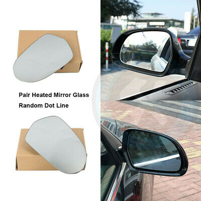 Mirror Glass w//Plate for 2012-2018 AUDI A6 and S6 Driver Left Side