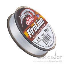 Crystal Fireline Braided Beading Thread 4LB 50 yd 0.005 Inch (D40/1)