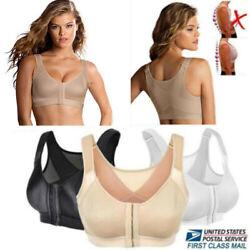 Frauen-Haltungskorrektur-BH-drahtlose Rückenstütze heben Yoga-BH-Unterwäsche an