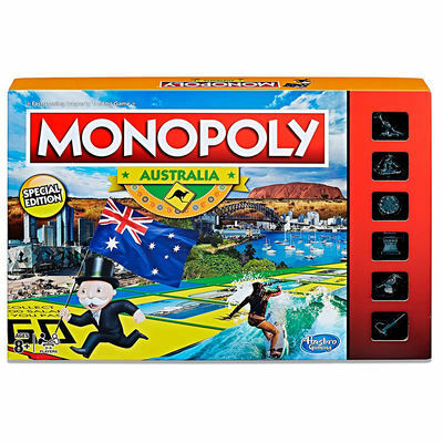Hasbro Monopoly Game Regional Edition Australia