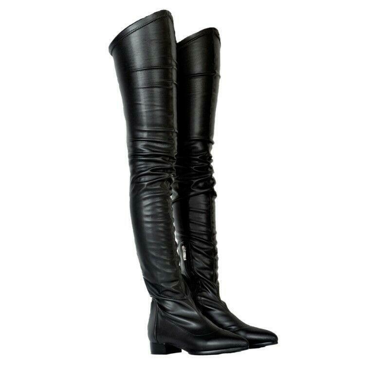 stivali super sexy donne Thigh High Heel stivali Belle  scarpe US4 -15  clienti prima reputazione prima