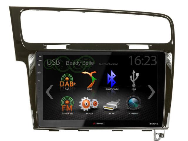 For VW Golf 7 Au AUV Car Radio GPS UKW DAB+ USB Bluetooth Android Car