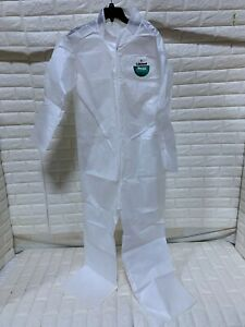 Protective Suit Lakeland C9412 Set Sleeve Coverall Collar no Hood 10pcs Large