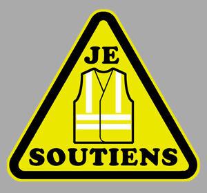 GILETS-JAUNES-STICKER-AUTOCOLLANT-SOUTIENS-REVOLUTION-STOP-MACRON-7-5cm-GA126