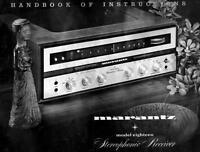 Marantz Model 18 User Owner Manual Guide Twenty Two For Stereo Receiver
