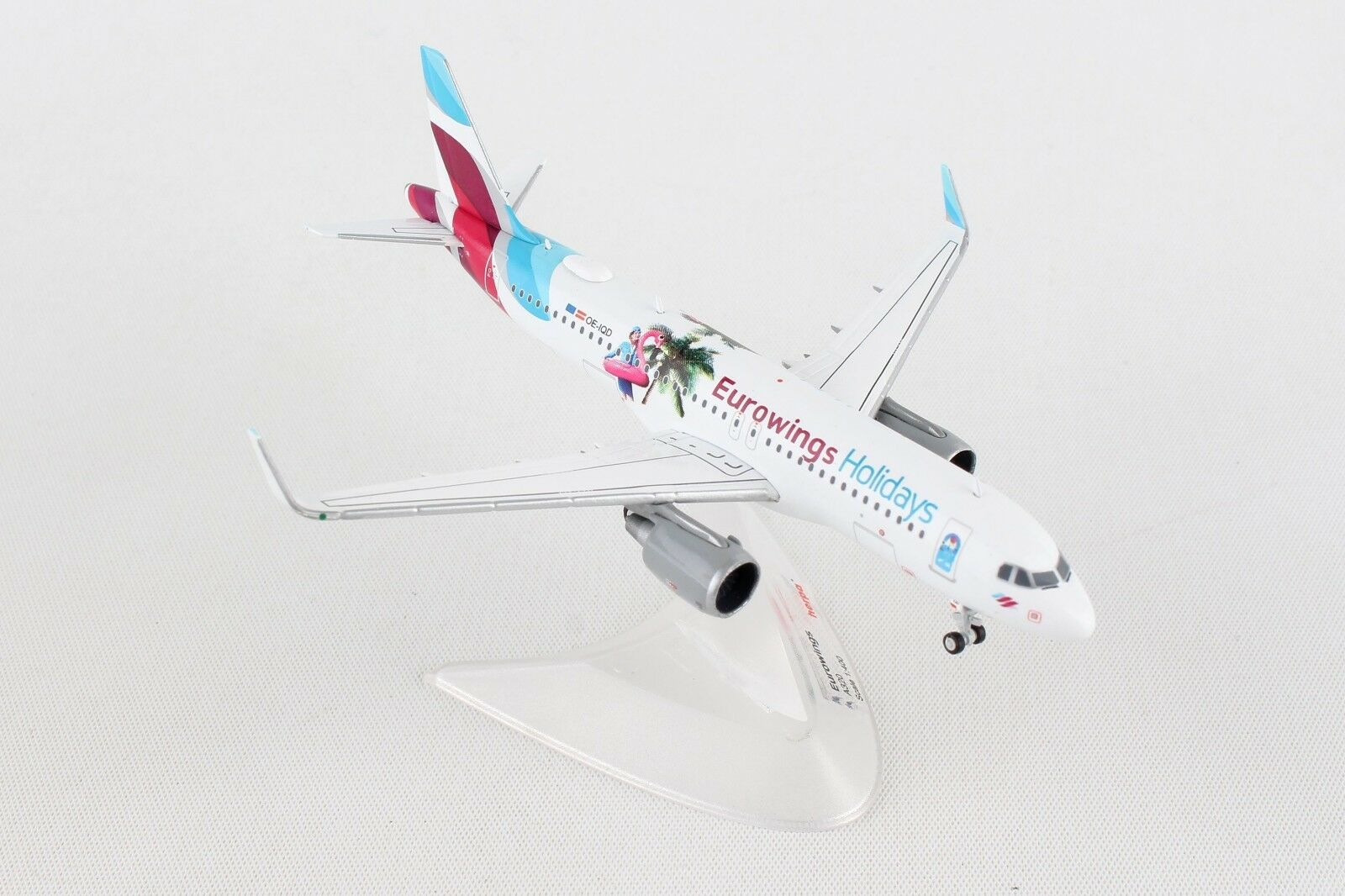 producto de calidad HE562669 Herpa Herpa Herpa Wings Eurowings Airbus A320 1 400 Die-cast modelo de avión  marca de lujo