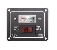 Batterietestschalter Batterieanzeige Tester Für 2 Batterien Schalttafel Sea Dog®