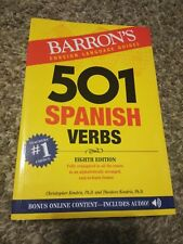 501 Verb: 501 Spanish Verbs by Theodore Kendris and Christopher Kendris (2017, Paperback, Revised)