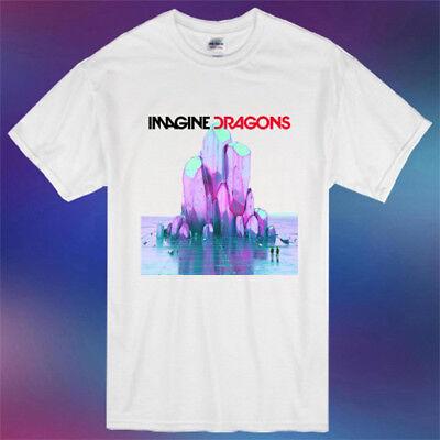 Imagine Dragons Evolve Album Logo New T-Shirt Size S-5XL