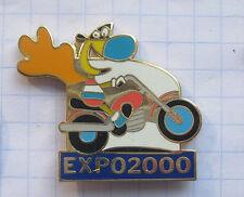 DEUTSCHLAND / HANNOVER EXPO 2000 / TWIPSY MOTORRAD .....Städte&Länder-Pin (112k)