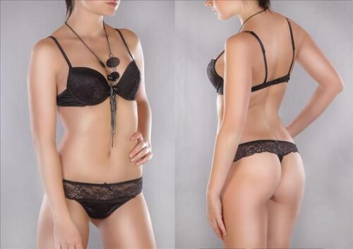 NEU BH Set Push-Up BHs Dessous Bügel-BH Slip Wäsche Underwear Damen Cup A B C