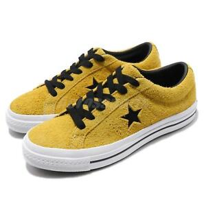 converse one star yellow black white men women casual