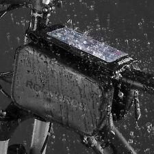 "ROCKBROS Waterproof Touch Screen Bike Bag Front Top Tube Frame 6.0"" Phone Bag"