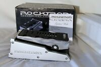 Rocktron Utopia Wah Guitar Effects Pedal Silver In Box