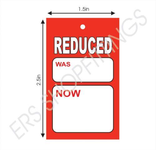 100x ridotto CARDS tagging GUN PISTOLA di determinazione prezzi STAFFA Swing biglietti ridotti