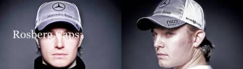 Neu Henri Lloyd Mercedes Gp Petronas Rosberg Baseballkappe Einstellbarer
