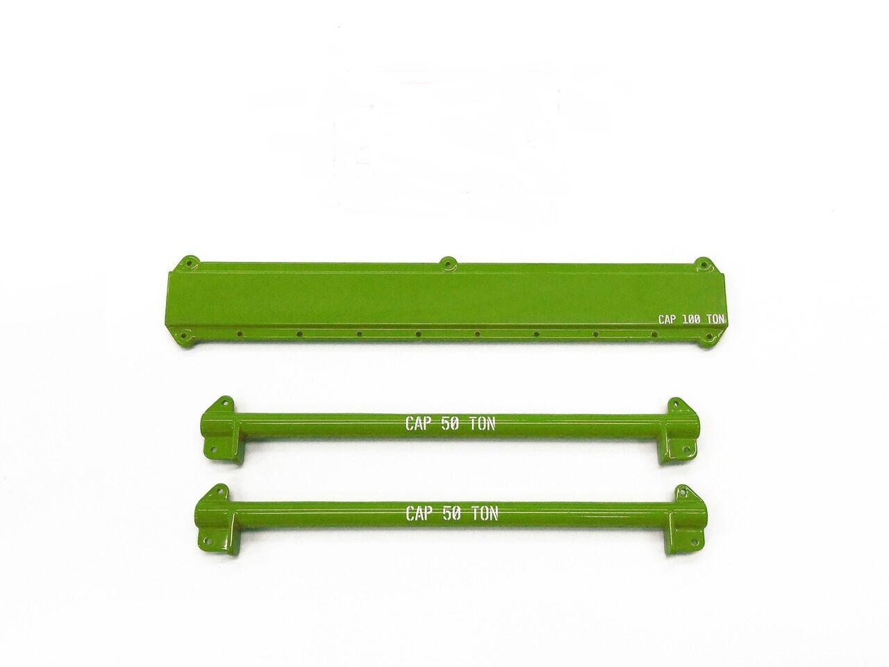 49pc Crane Rigging & Lifting Kit avec épandeur de poutres -  vert  - 1 50 - Weiss