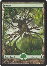 TCG MtG 162 Magic the Gathering Zendikar Full Art Land  Forest/Wald