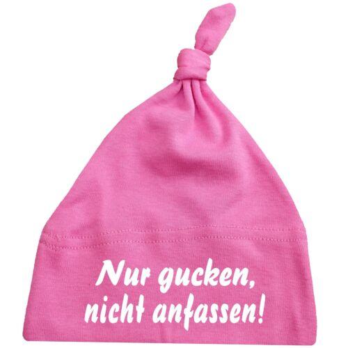 Babymützen baby casquette avec des sort-Babybugz Baby One Knot a bz15