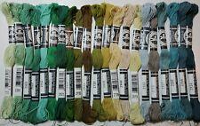 DMC Stranded Cotton 8m Colours 69-3848 100/% Cotton Embroidery Thread Skeins