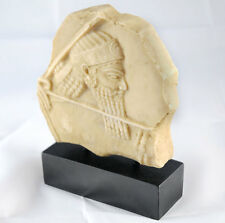 Ashurbanipal, King of Assyria (668-627 BC), standing relief Polyresin Assyrian s