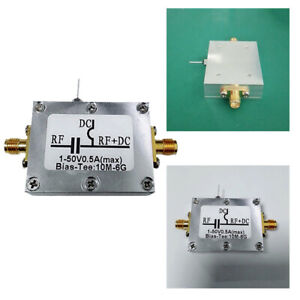 Biaser-Bias-Tee-10MHz-6GHz-case-F-HAM-radio-RTL-SDR-LNA-Low-Noise-Amplifier-RF