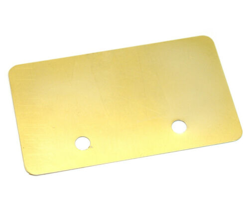 1 Genuine Fender American Jazzmaster Pickup Control Cavity Shield 005-4439.000