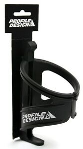 Black Profile Design Nylon Kage Water Bottle Cage with Retention Band