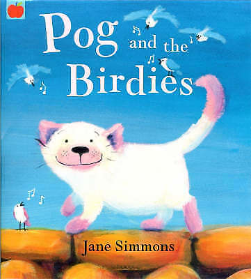 1 of 1 - Bedtime Story Book - Preschool - POG AND THE BIRDIES by Jane Simmons - NEW