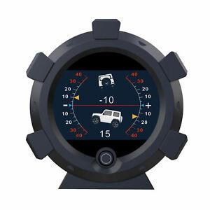 GPS-Neigungsmesser-Gradient-Neigung-Steigung-Tachometer-Neigungswinkel-alle-Auto