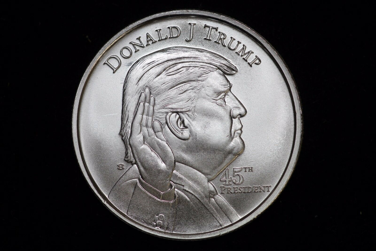 2017 Donald Trump 1oz Silver Round 999 Fine Bullion Coin