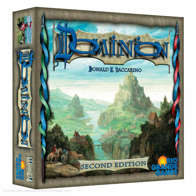 Dominion 2nd Edition (English) NEW Board Game