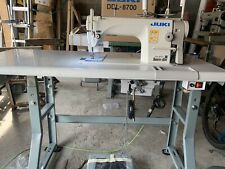 New Juki Ddl 8700 Complete With Servo Motor Sewing Machine