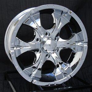 Chevy Avalanche 2016 Price >> 17 inch Chrome Wheels/Rims Chevy GMC Sierra 6 Lug 1500 Truck Avalanche Helo Maxx | eBay