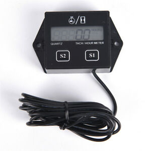 Digital-Engine-Tach-Tachometer-Hour-Meter-Inductive-for-Motorcycle-Motor-SM-PL