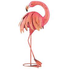 "Garden Decor Bird Statuary - PINK FLAMINGO 25"" PREENING - Regal Art & Gift 10864"