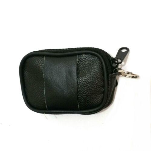 En cuir véritable sac de ceinture Pièces Sac sclüsselmäppchen Portefeuille münzbeutel