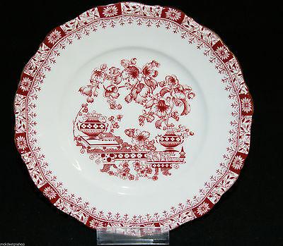 Seltmann Weiden Porzellan Theresia //Dorothea China Rot Suppenteller Küche Teller