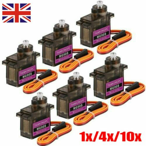 1-10X SG90 Micro Servo Motor 9G RC Robot Arm Helicopter Airplane Remote Control