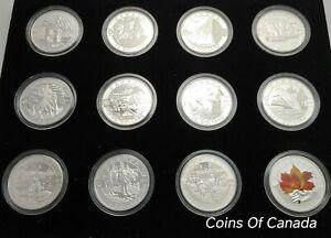 2013-O-Canada-Set-1-10-12-Coin-Silver-Proof-Full-Set-coinsofcanada