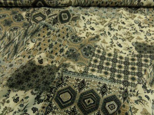 """Multicolore Robes tissu de Hilco /""""safarie Combi/"""" 145 cm br"""