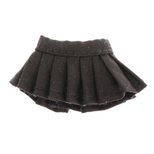 Mini Pleated Skirt for OB11 1//12 BJD DIY Kids Pretend Play Dress-up Accessory