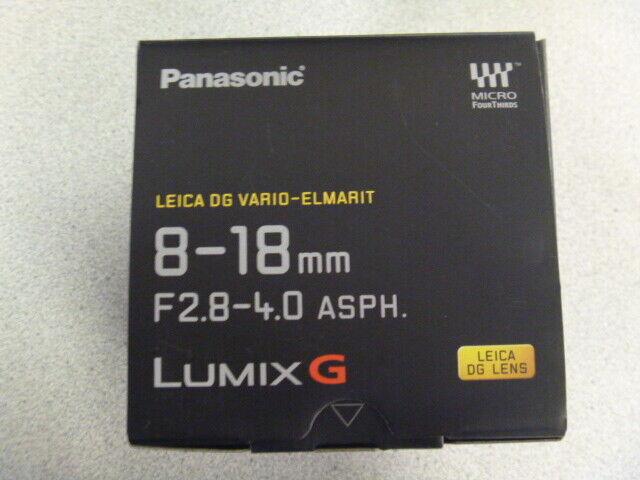 Panasonic Lumix H-E08018 Lens (Black)