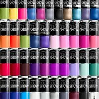 Lot Of 12 Maybelline Color Show Nail Polish - All Different Colors Great Variety