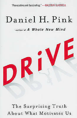 1 of 1 - Drive: The Surprising Truth About What Motivates Us..PINK.. H/C..LIKE NEW lnf490