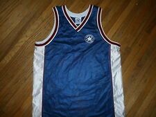 tg CONVERSE ALL STAR JERSEY Chuck Taylor T's Basketball Blue Red White MEDIUM