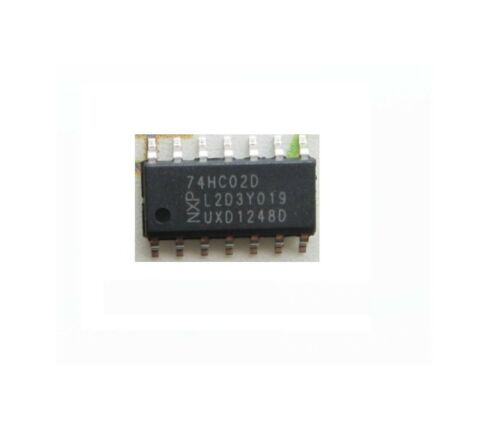10PCS 74HC02D SOP-14 74HC02 HC02 Quad 2-input NOR gate NEW