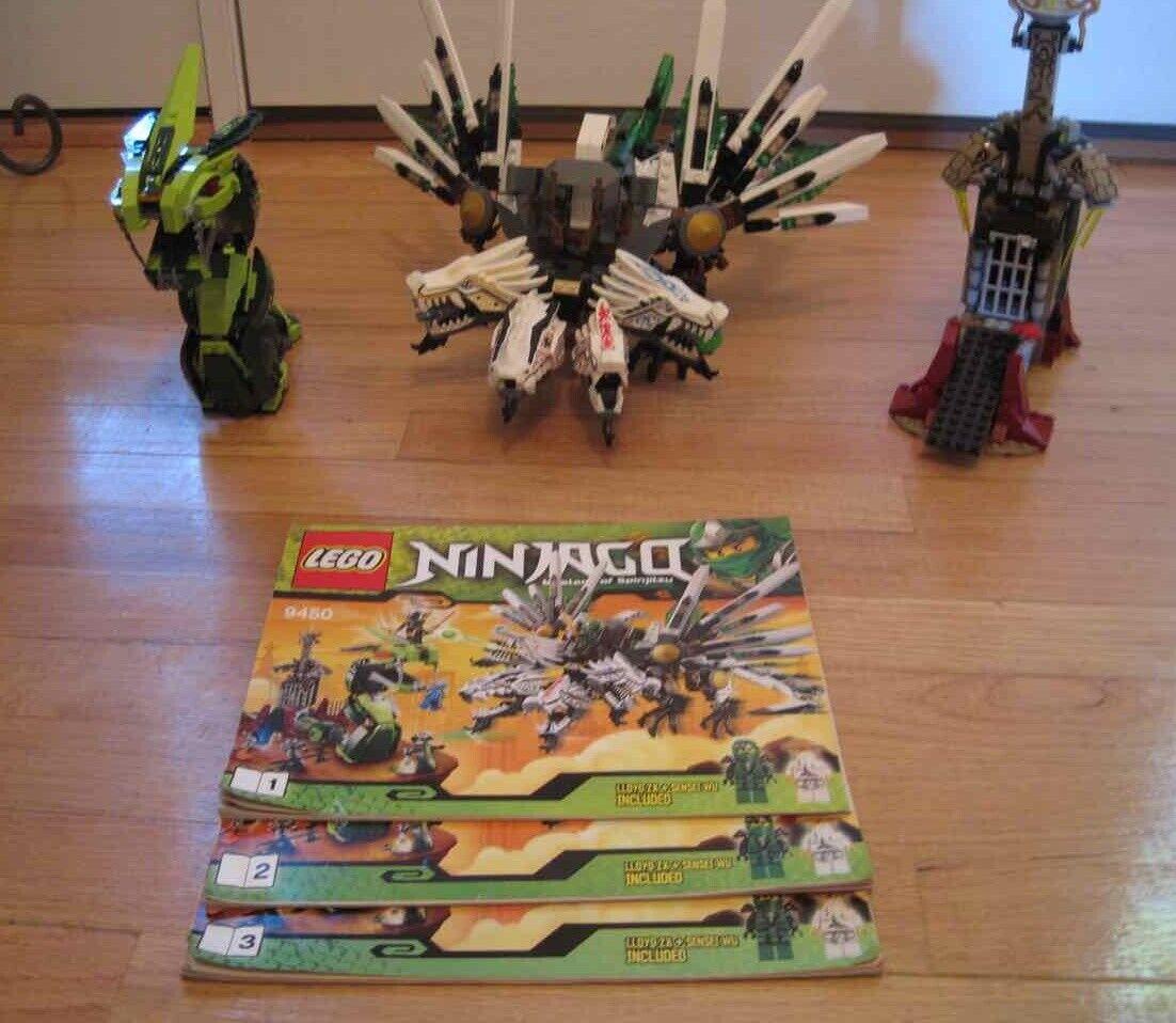 Lego, Ninjago, Epic Dragon Battle, maestros de Spinjitzu,  9450